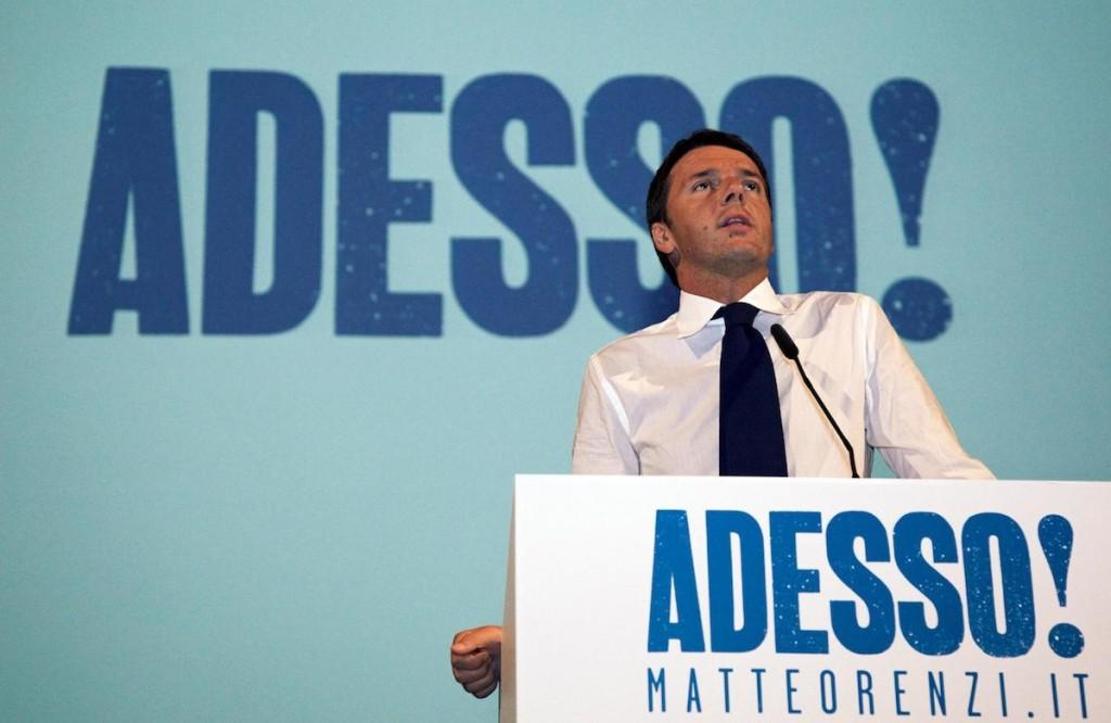 RENZI, MI CANDIDO A GUIDARE L'ITALIA DELUSI PDL VOTINO ME
